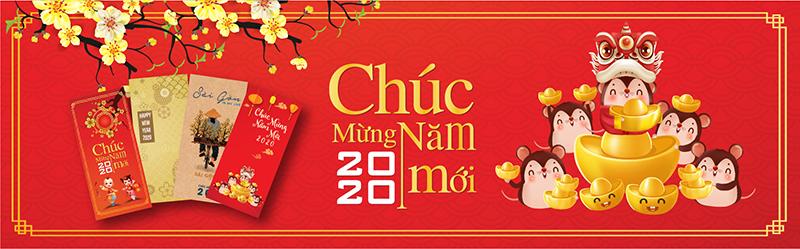 In Nhanh Bao Lì Xì Tết 2020 Canh Tý